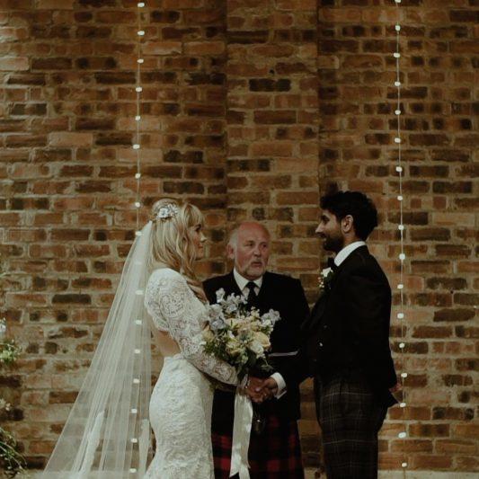 film ślubny, ślub zagraniczny, Kinkell Byre, ślub humanistyczny
