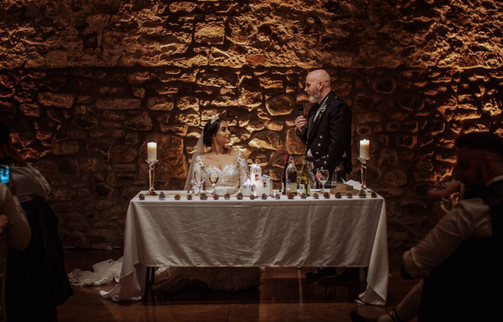 film ślubny, Kinkell Byre, ślub zagraniczny, ślub humanistyczny, plener ślubny, toast ślubny